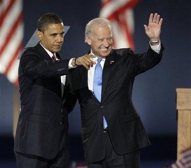 President Barack Obama and then-vice president Joe Biden