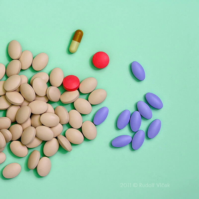 Picture of pills and tablets