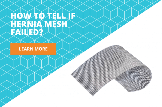 symptoms of hernia mesh failure