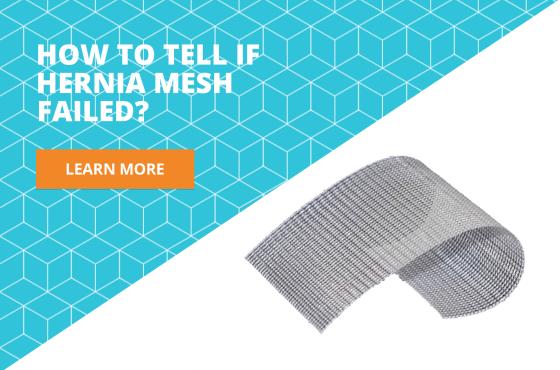 symptoms of hernia mesh failure